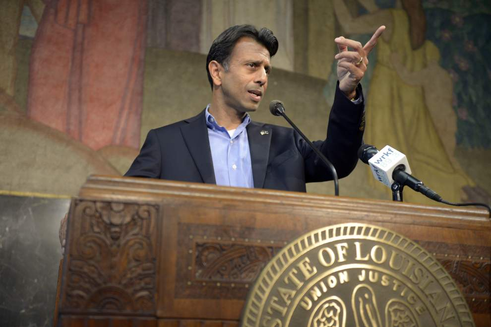 Bobby Jindal holds press conference to announce he's going to overboard with this Common Core thing.