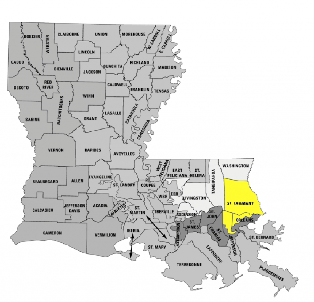 BESE District 1 covers St. Tammany and parts of Jefferson and Orleans.