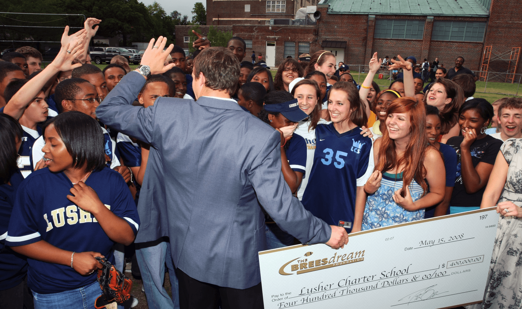 No one is trying to put a $1.2 million dent in Lusher's budget next year.