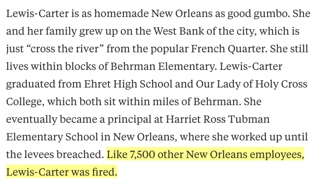 """From """"Cities don't need outsiders to save their schools"""" - Hechinger Report: June 2, 2015"""