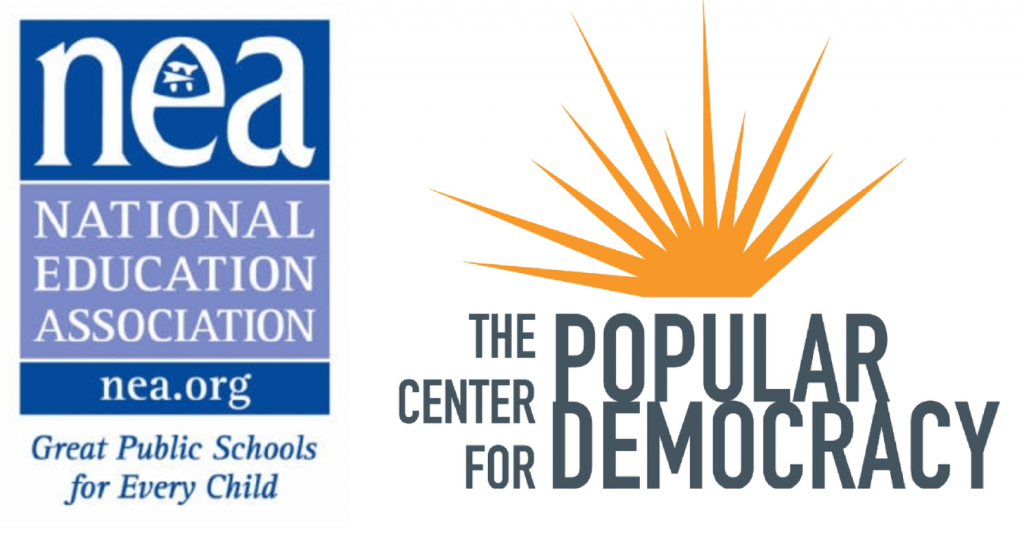 LAROS is part of broader campaign by the National Education Association and Center For Popular Democracy.